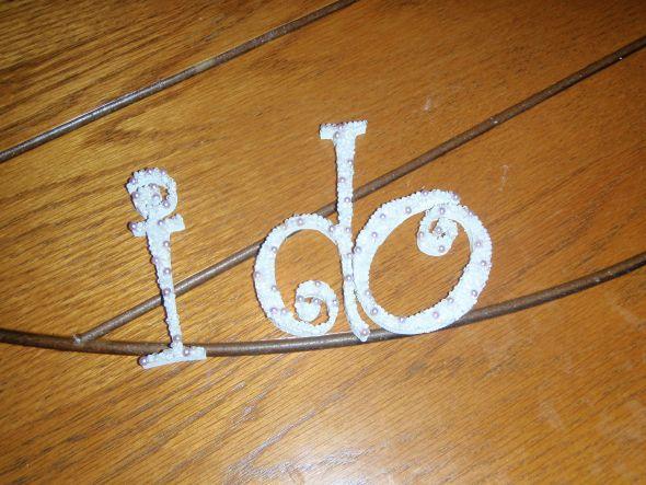 Easy DIY Cake Topper :  wedding diy cake cake topper purple silver inspiration reception P1010151