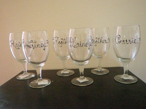 personalized wine glasses new and improved