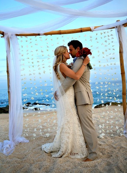 Bridgeey 39 s blog mine will be simple beach decor 2 post for Wedding dress for beach ceremony