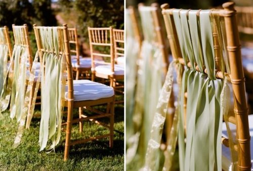 Mine will be simple beach decor 2 post bamboo arch with white fabric draped